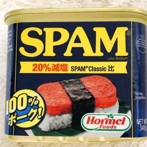 SPAMが食べてみたかったので買ってみた♪