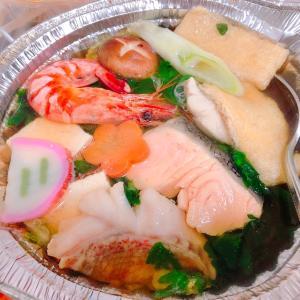 阪神百貨店で買った、寄せ鍋と西京焼き 魚道楽(SAKANADOURAKU) -