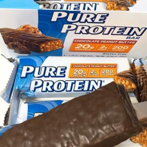 ◎お勧め! Pure Protein, チョコレートピーナッツバター・バー