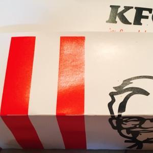 KFCオリジナルチキンを久しぶりに食べました。