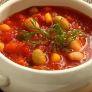 超簡単で激うま!大豆トマトスープの作り方【低脂肪】