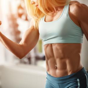 筋トレ女子の高タンパク質摂取と低タンパク質摂取の影響