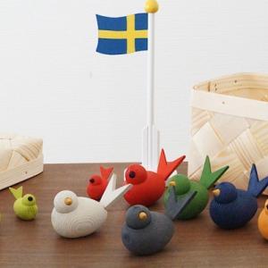 北欧インテリア雑貨|ラッセントレー「バード」木製オブジェ