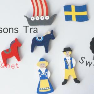 北欧雑貨|冷蔵庫にメモやレシピをレシピを「北欧デザインのマグネット」