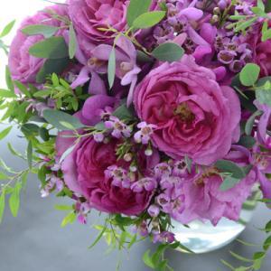 香り高いバラの花束♡ブーケレッスン
