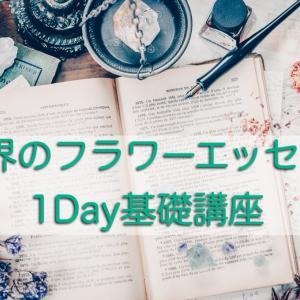 【8/8(土)世界のフラワーエッセンス1Day基礎講座】
