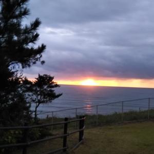 天神岬の日の出