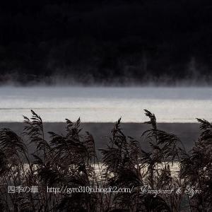初冬の山中湖