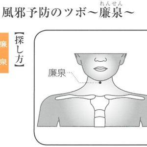 新型コロナ肺炎のツボ②口の渇き!唾液分泌