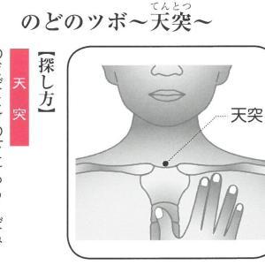 新型コロナ肺炎のツボ③のどの痛み!長引く咳