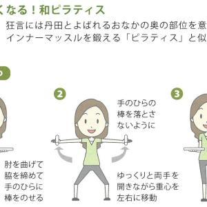 美しい所作→臍下丹田のインナーマッスルを鍛えるストレッチ