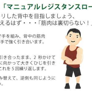 男の自信!背中の筋肉を鍛えるストレッチ