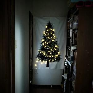 タペストリーでクリスマス気分★