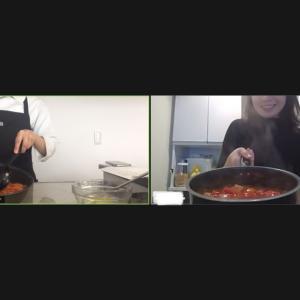 オンライン料理教室レポ&キャンペーン