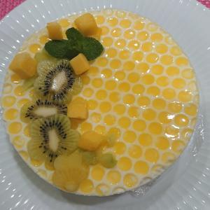 【あべの】とってもかわいい蜂デザインのケーキ