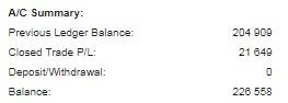 1月の利益は16.5万でした
