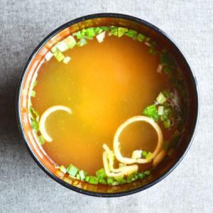 お味噌汁を改善