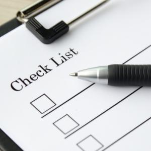 チェックリストの導入