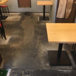 柏本店をケルヒャーで真っ白な床に