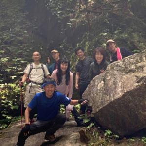 経営者仲間と登山で御岳山へ