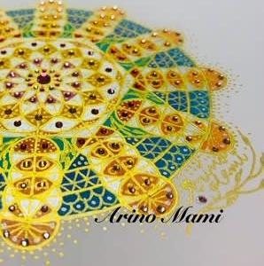 M・Nさんのオリジナル神聖幾何学リーディングアート