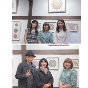 昨日17日は平蔵さんでの個展最終日でした❤