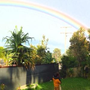 子育て風水に虹をかけよう☆