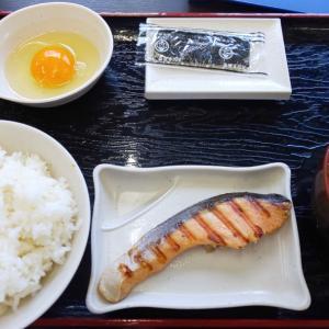 朝食しました