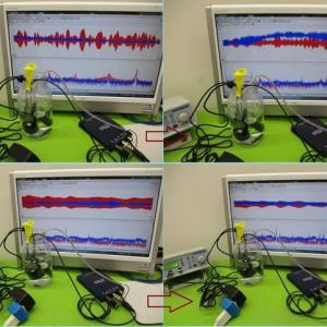 金属粉末に対する超音波照射技術