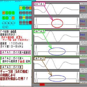 超音波分析(短時間FFT)NO.2
