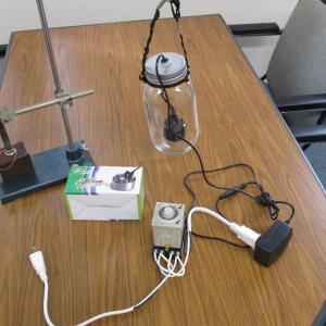 メガヘルツの超音波発振制御プローブ  ultrasonic-labo