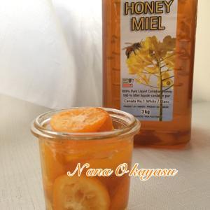 簡単薬膳レシピ Honey kumquat 金柑ハチミツ