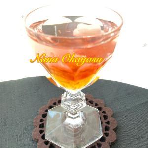 バカラグラスでノドに優しい 韓国オリジナルノンアルコールカクテル