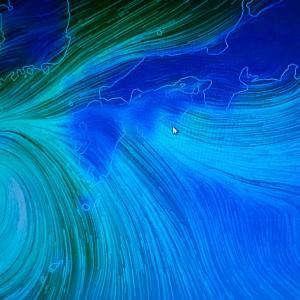 今日、田んぼで稲刈りを!・・・台風17号で、西日本は悪天?