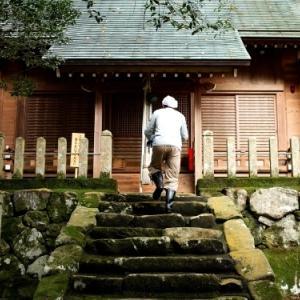 びわ湖情景・・・お宮さん・思子淵神社の掃除普請。