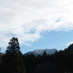 武奈ヶ岳・比良山系に初冠雪・・・伊木力ミカン