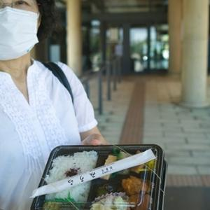 オクヤマは、ヤッパ涼しい!・・・500円、鯖寿司「みうら」の弁当
