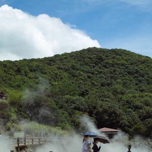 島原鉄道と島原城・・・そして、温泉卵と地獄めぐり