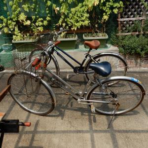 「自転車2台でニコイチ」