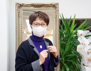 マスクでも掛け外しのしやすいメガネ
