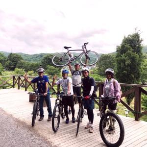 *辰野のんびりガイドサイクリング vol.2、開催しました!*