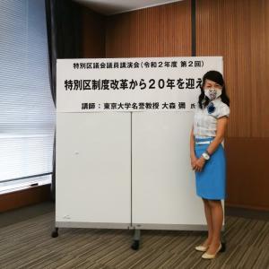 特別区(東京23区)制度改革から20年。道州制や通年議会についてどう考えるか?