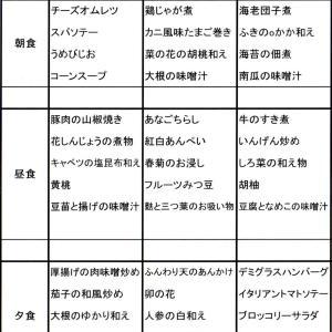 【たんぽぽ森本の家】 ☆献立表☆9/15~9/21