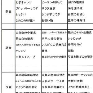 【たんぽぽ森本の家】 ★献立表 11/3~11/9★