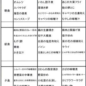 【たんぽぽ森本の家】 ★献立表 11/10~11/16★