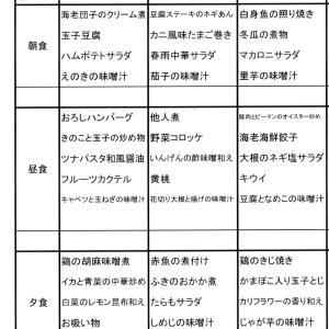 【たんぽぽ森本の家】 ★献立表 05/31~05/06★