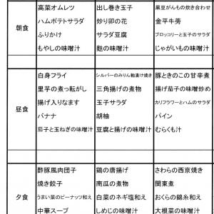 【たんぽぽ森本の家】 ★献立表 06/07~06/13★