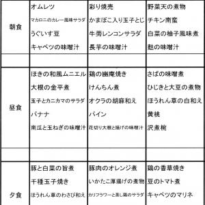【たんぽぽ森本の家】 ★献立表 06/14~06/20★