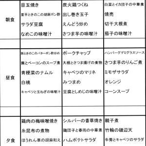 【たんぽぽ森本の家】 ★献立表 07/26~08/01★