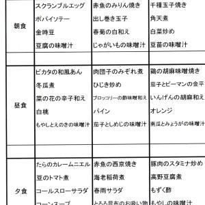 【たんぽぽ森本の家】 ★献立表 7/28~8/3★